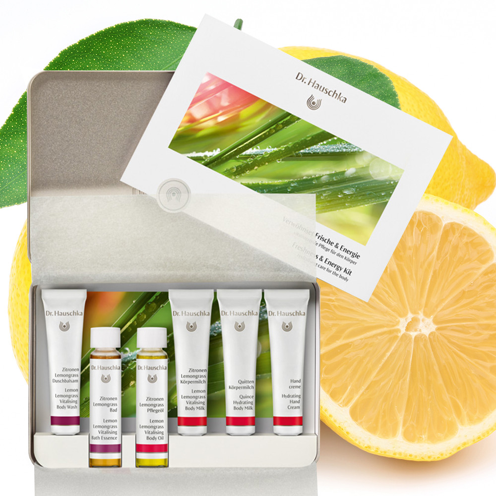 Dr Hauschka Freshness & Energy Kit 6 x 10ml