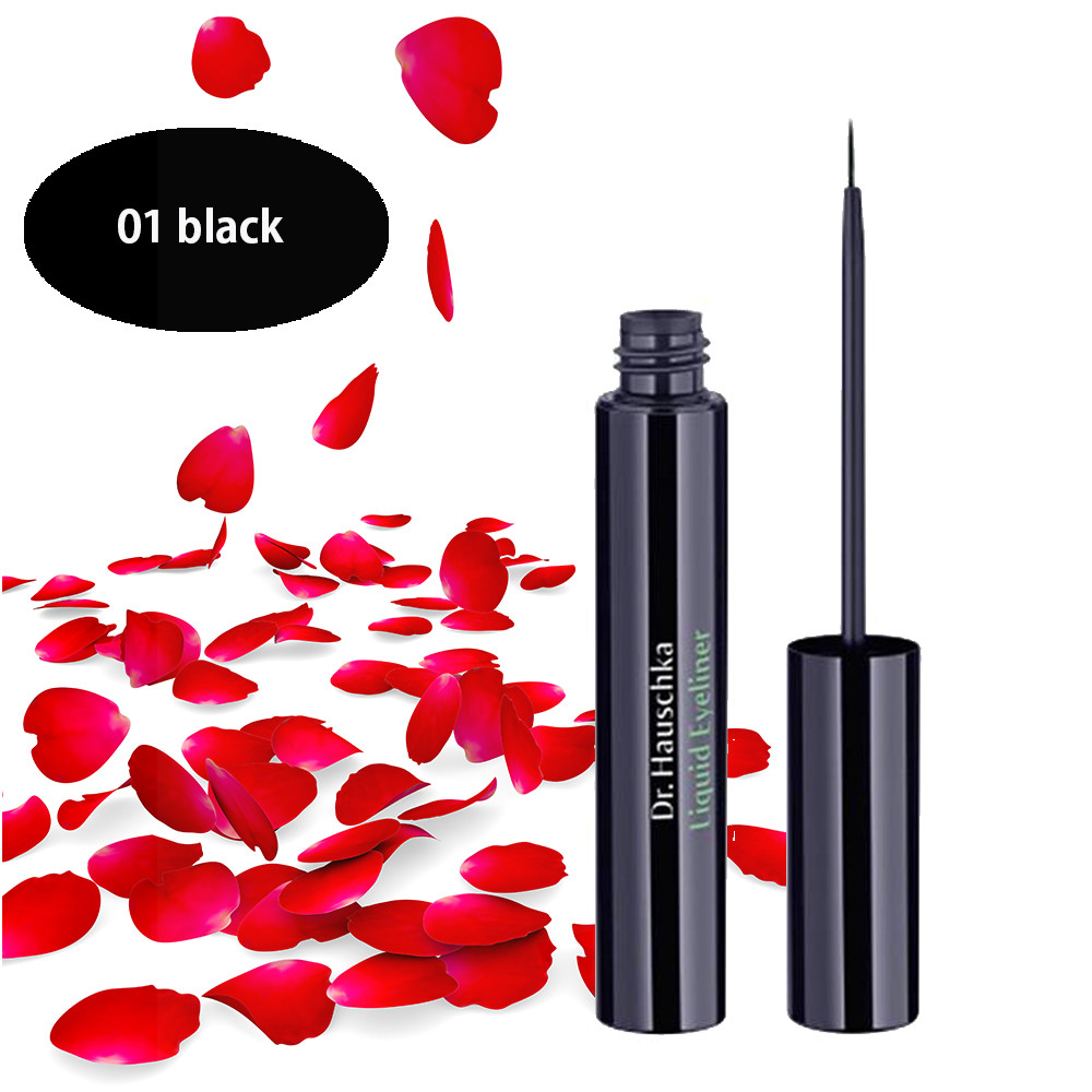Dr Hauschka Liquid Eyeliner 01 Black 4ml