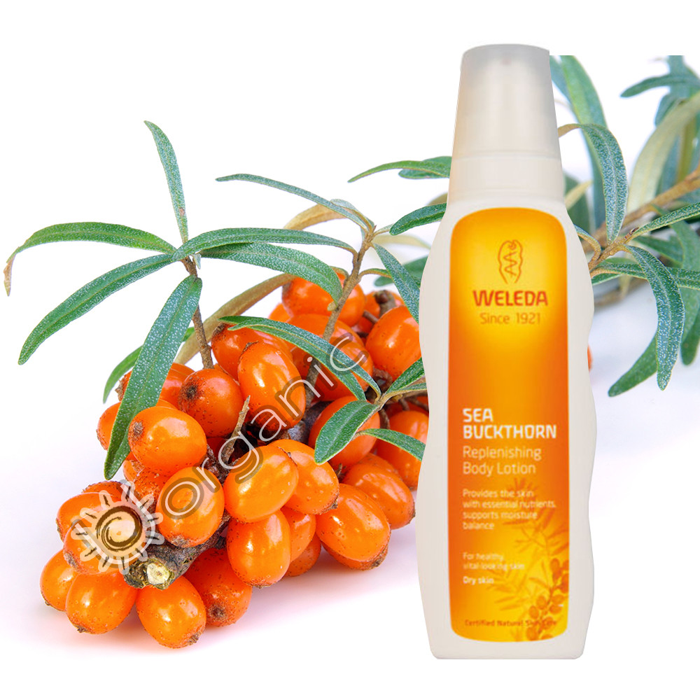 Weleda Sea Buckthorn Replenishing Body Lotion 200ml