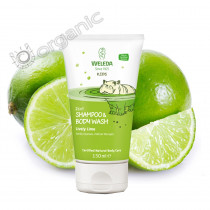 Weleda Kids 2 in1 Shampoo & Body Wash Lively Lime 150ml