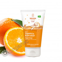 Weleda Kids 2 in 1 Shampoo & Body Wash Happy Orange 150ml