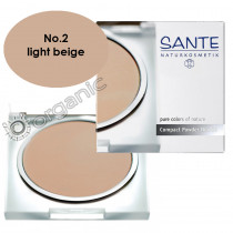 Sante Compact Powder No. 2 Light Beige 9g