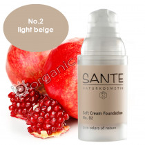 Sante Soft Cream Foundation No. 2 Light Beige 30ml