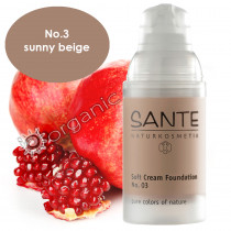 Sante Soft Cream Foundation No. 3 Sunny Beige 30ml