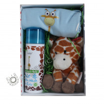 Marili Skincare - Nina the Giraffe Luxury Gift Set - Pale Blue