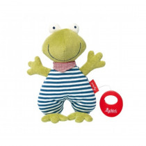 Sigikid Musical Frog, Organic Cotton
