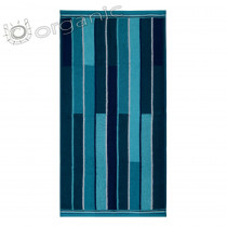Dyckhoff Planet Stripes Towel 100% Organic Cotton - Teal