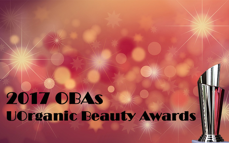 2017 OBA UOrganic Beauty Awards