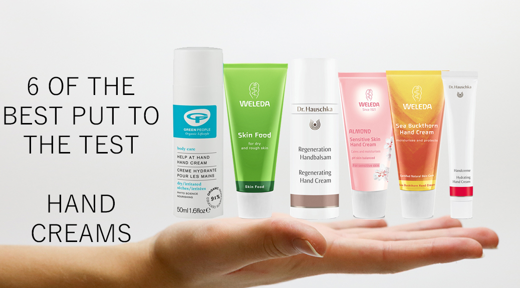 6 hand creams put to the test