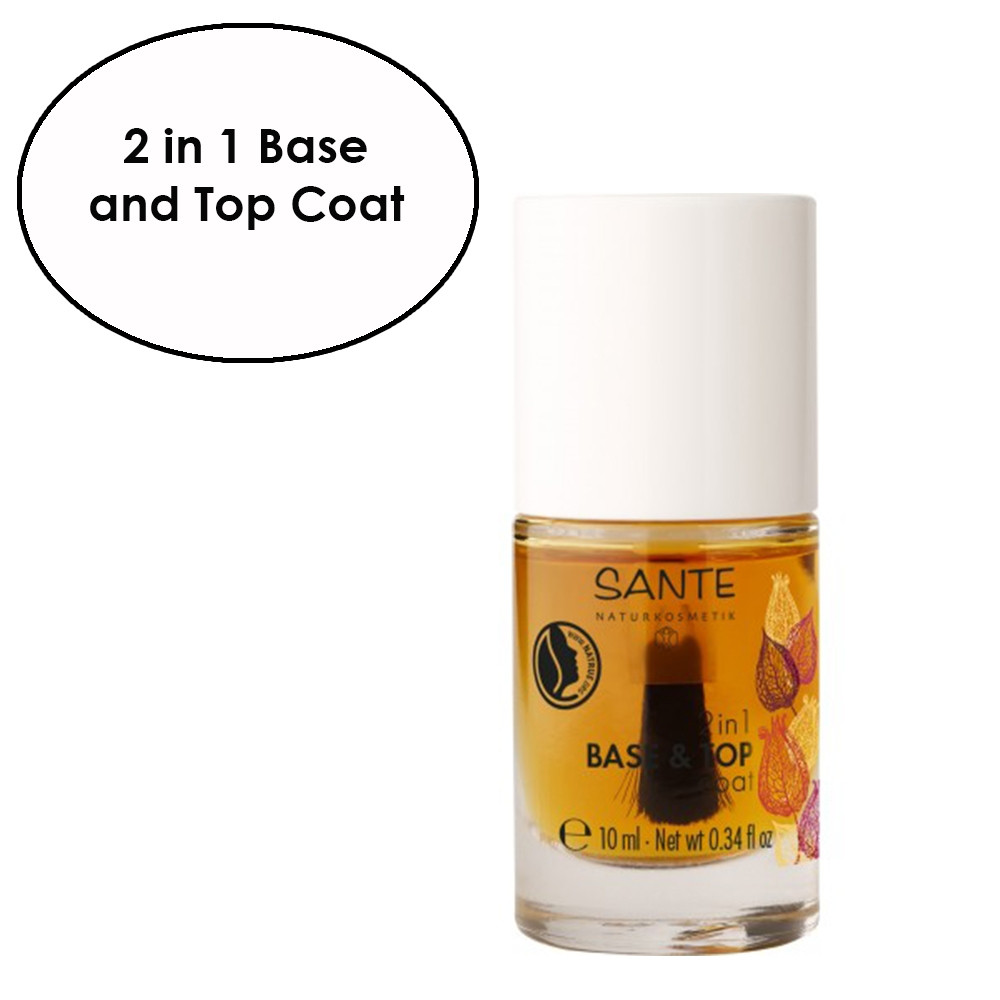 Sante 2 in 1 Nail Polish Base & Top Coat 10ml