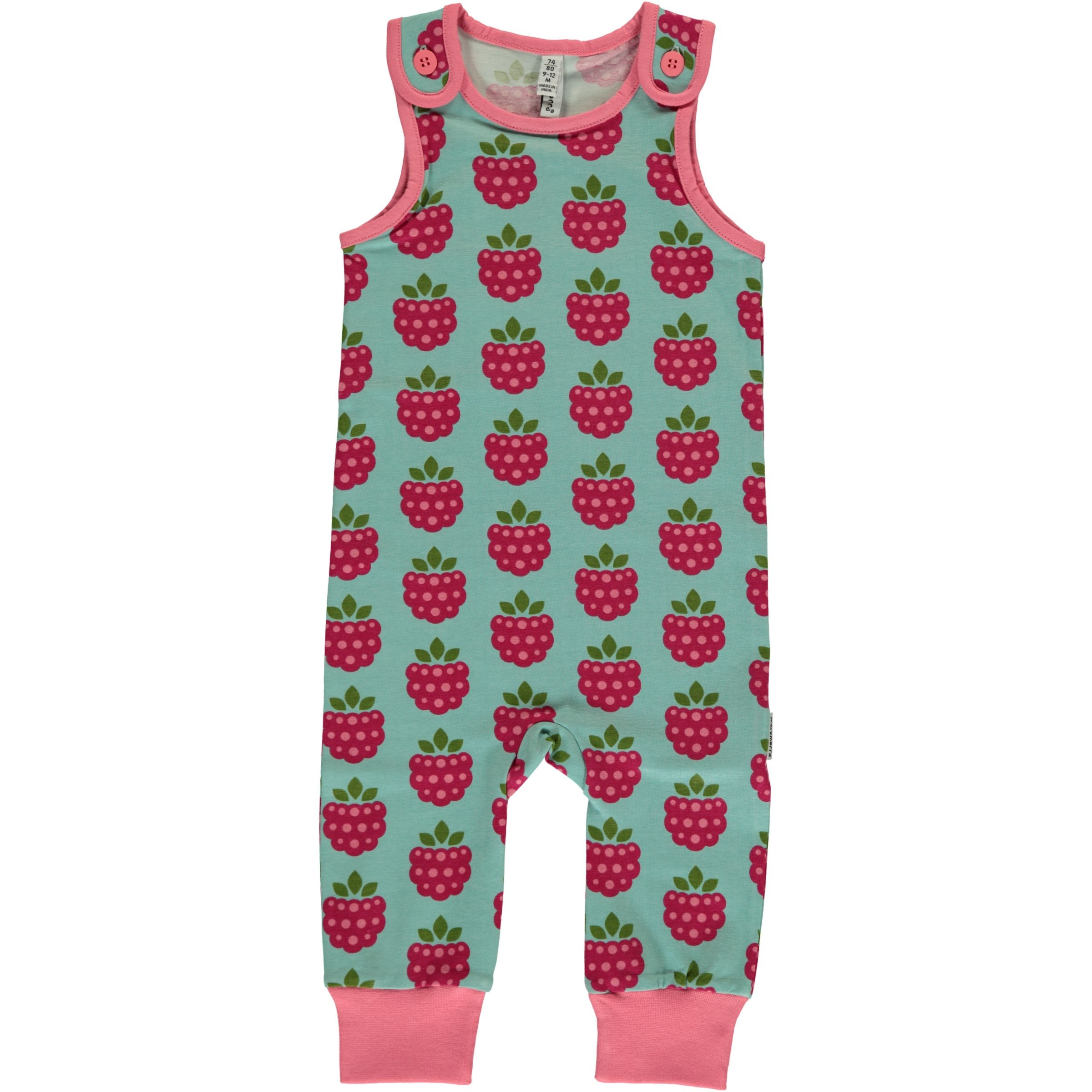 Maxomorra Raspberry Playsuit Long