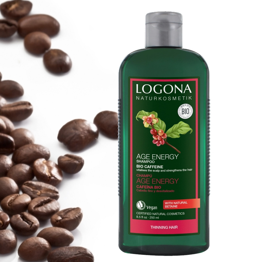 Logona Bio Caffeine & Goji Berry Age Energy Shampoo for Fine Hair 250ml