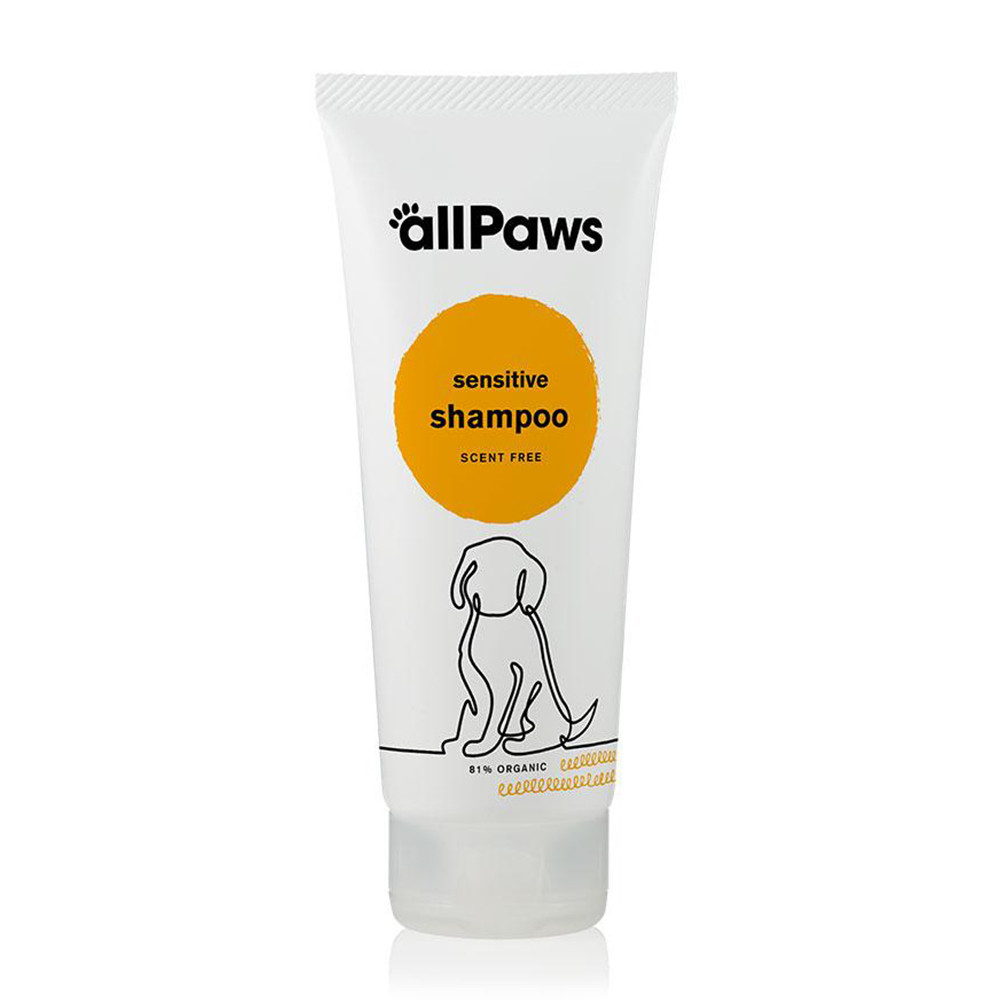 Green People All Paws Sensitive Dog Shampoo - Scent Free 200ml