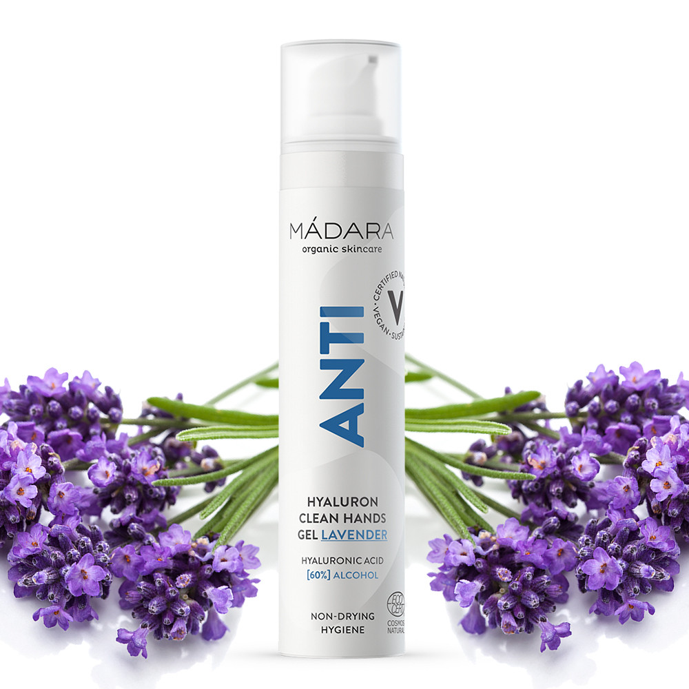 Madara ANTI Hyaluron Clean Hands Gel - Lavender 50ml - 05/2021