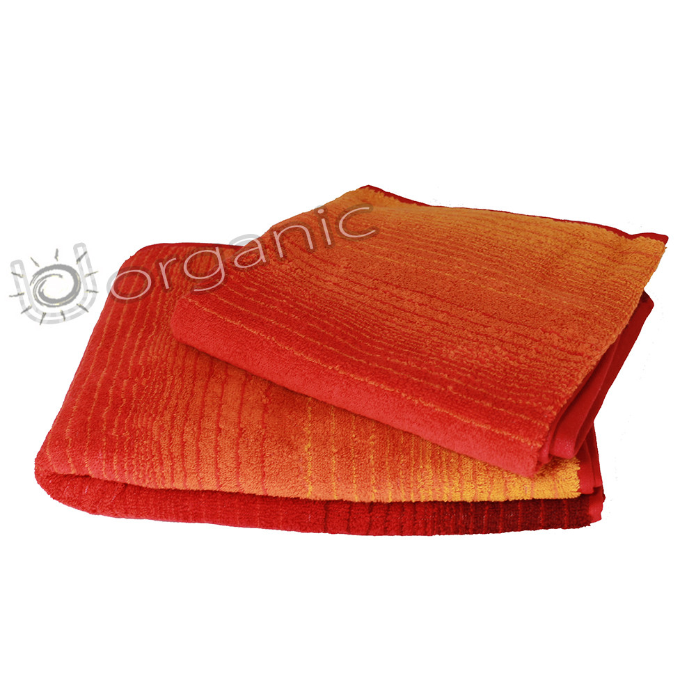 Dyckhoff Colori Towel Bale 100% Organic Cotton - Red
