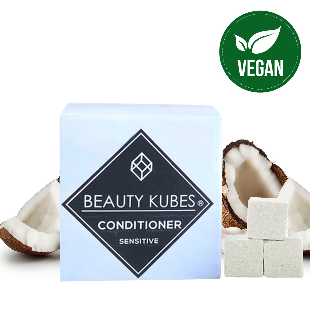 Beauty Kubes Plastic Free Conditioner for Sensitive Skin - 27 Kubes