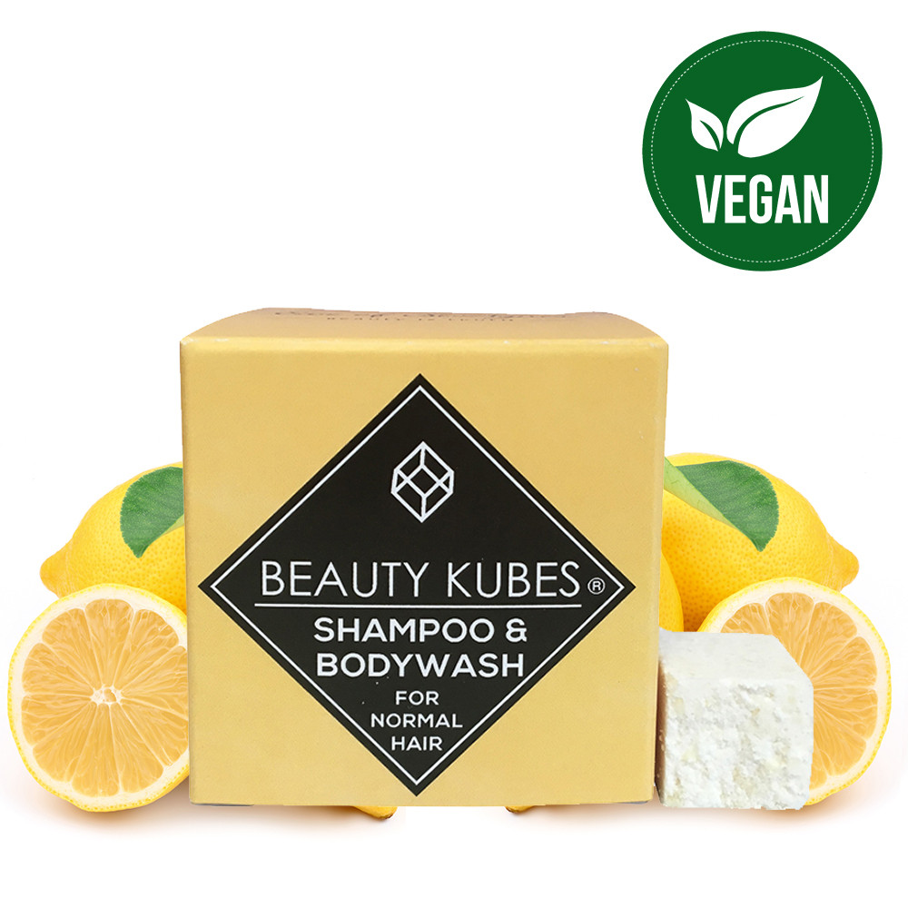 Beauty Kubes Body Wash & Shampoo for Normal Hair - 27 Kubes