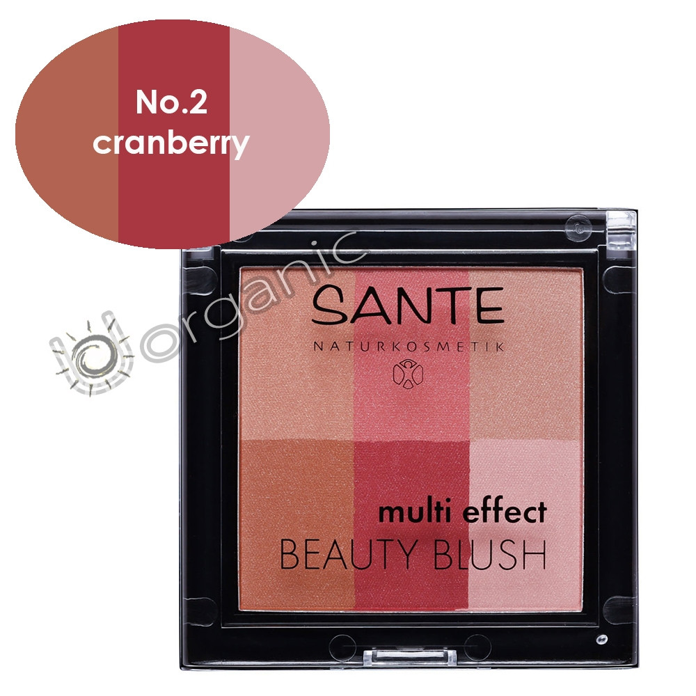 Sante Multi Effect Beauty Blush 02 Cranberry 8g