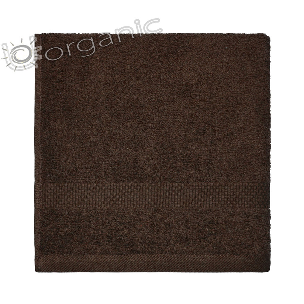 Dyckhoff Planet Towel 100% Organic Cotton - Chocolate Brown
