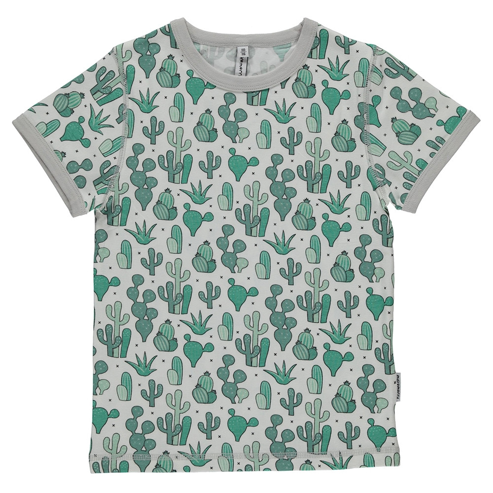 Maxomorra Cactus Garden T-Shirt Top