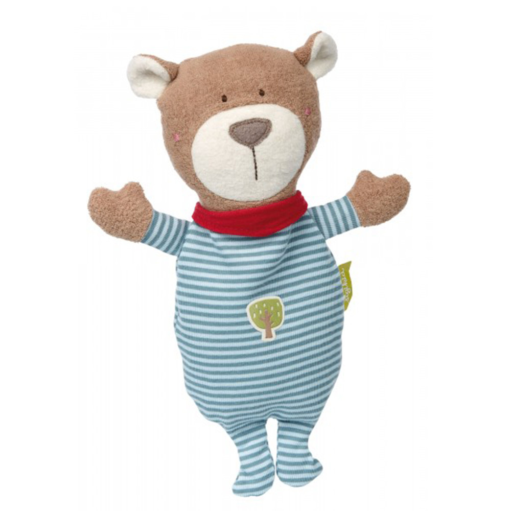 Sigikid Cherry Stone Bear, Green Collection
