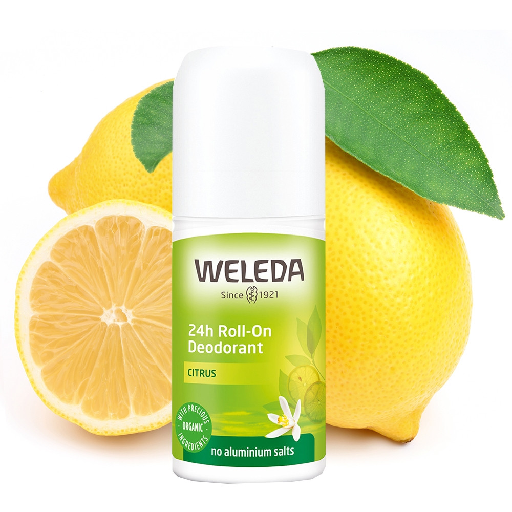 Weleda Citrus 24h Roll-On Deodorant 50ml