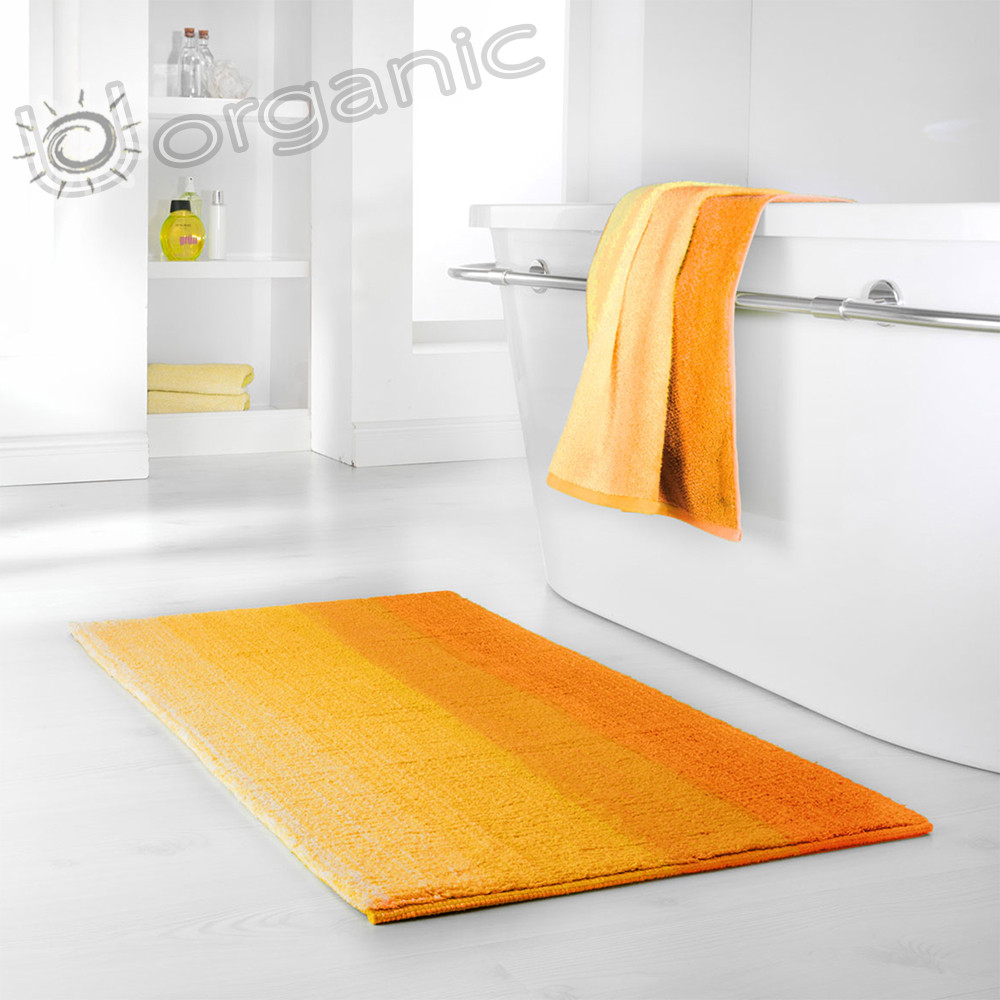 Dyckhoff Colori Bath Mat 100% Organic Cotton Yellow