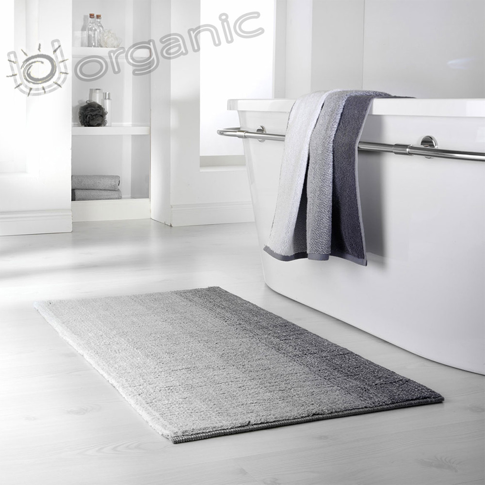 Dyckhoff Colori Bath Mat 100% Organic Cotton Grey
