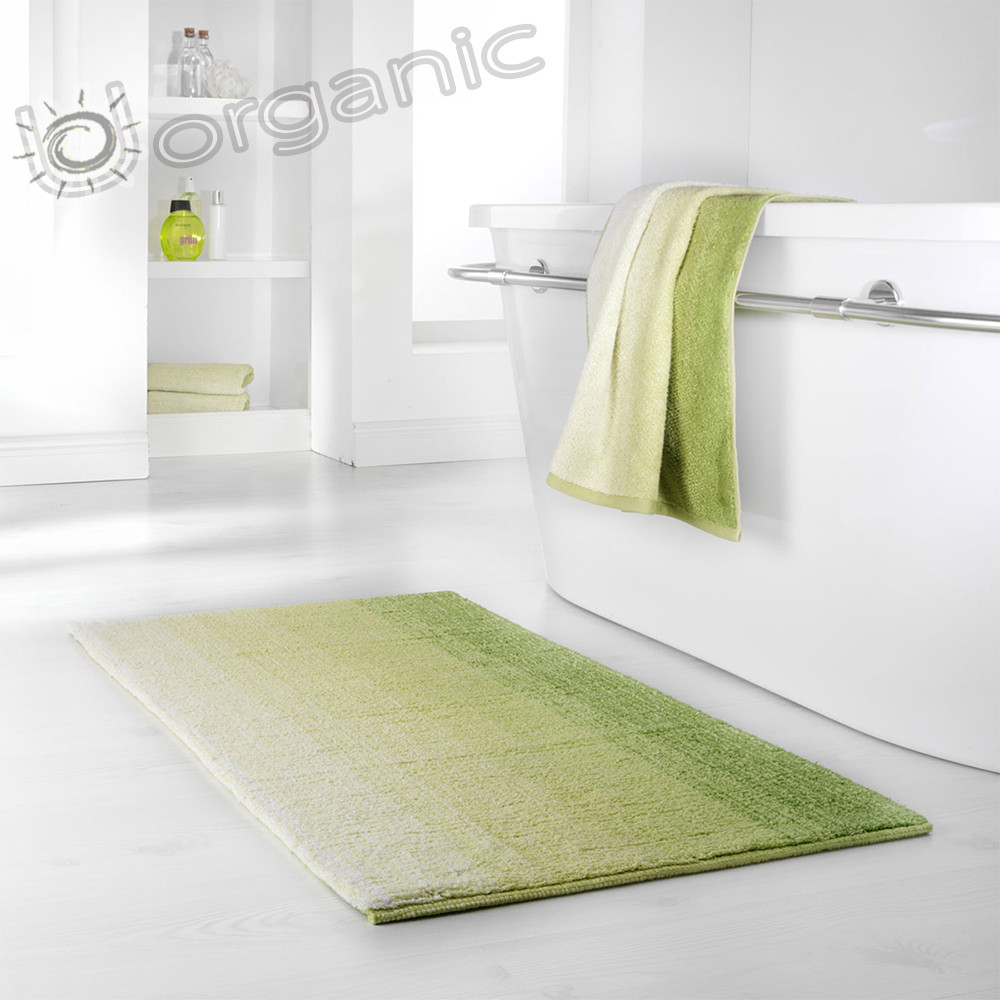 Dyckhoff Colori Bath Mat 100% Organic Cotton Green