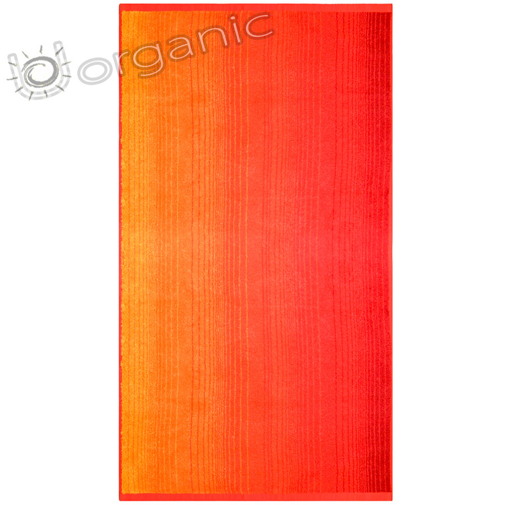 Dyckhoff Colori Towel 100% Organic Cotton - Red