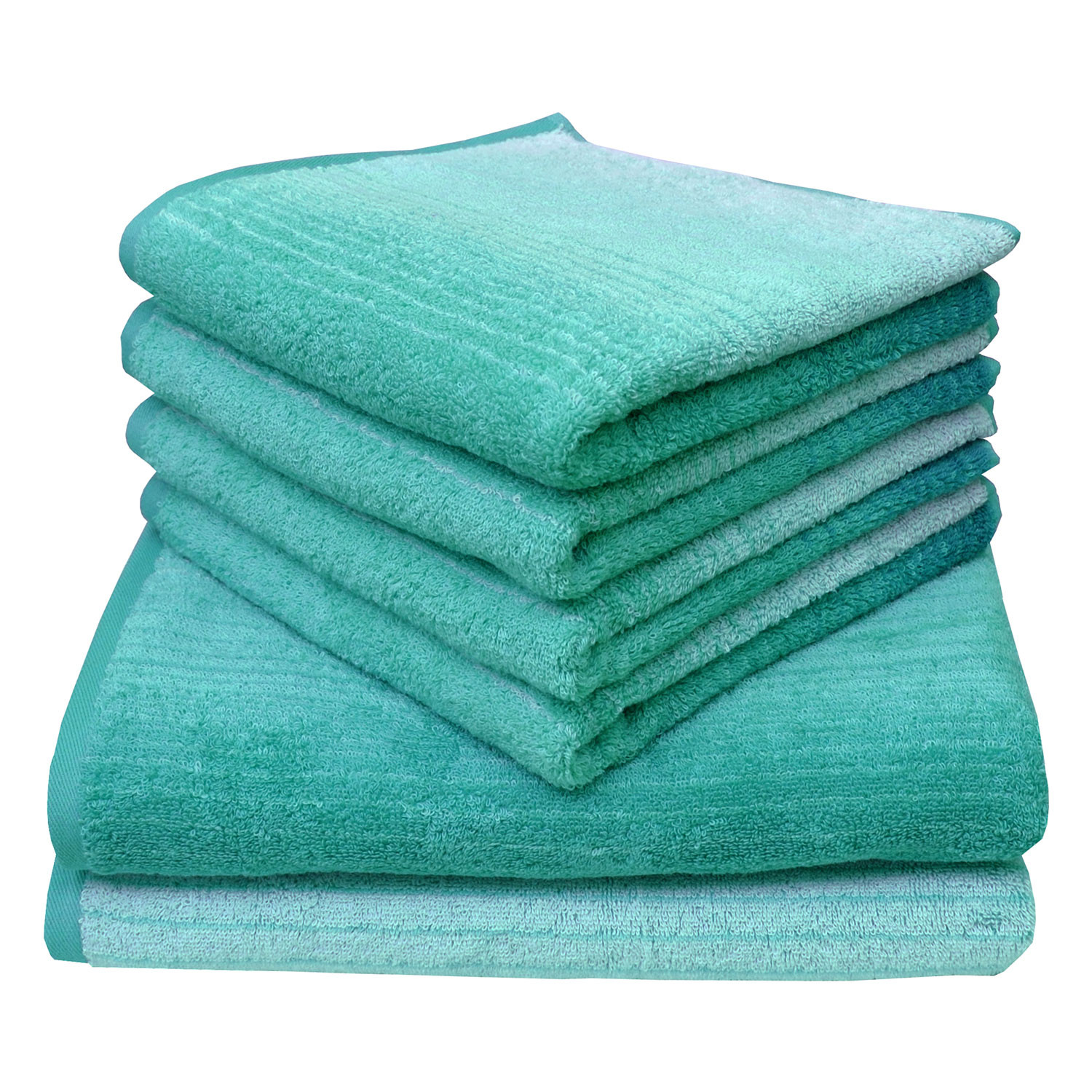 Dyckhoff Colori Towel 100% Organic Cotton - Aqua Blue