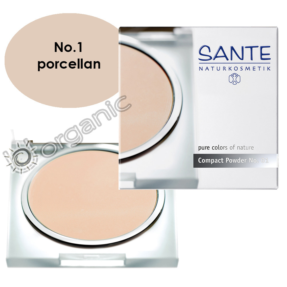 Sante Compact Powder No. 1 Porcellan 9g