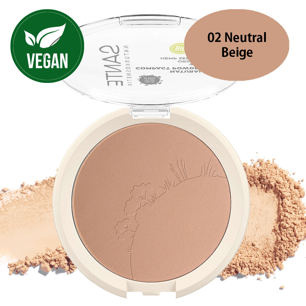Sante Compact Powder 02 Neutral Beige 9g