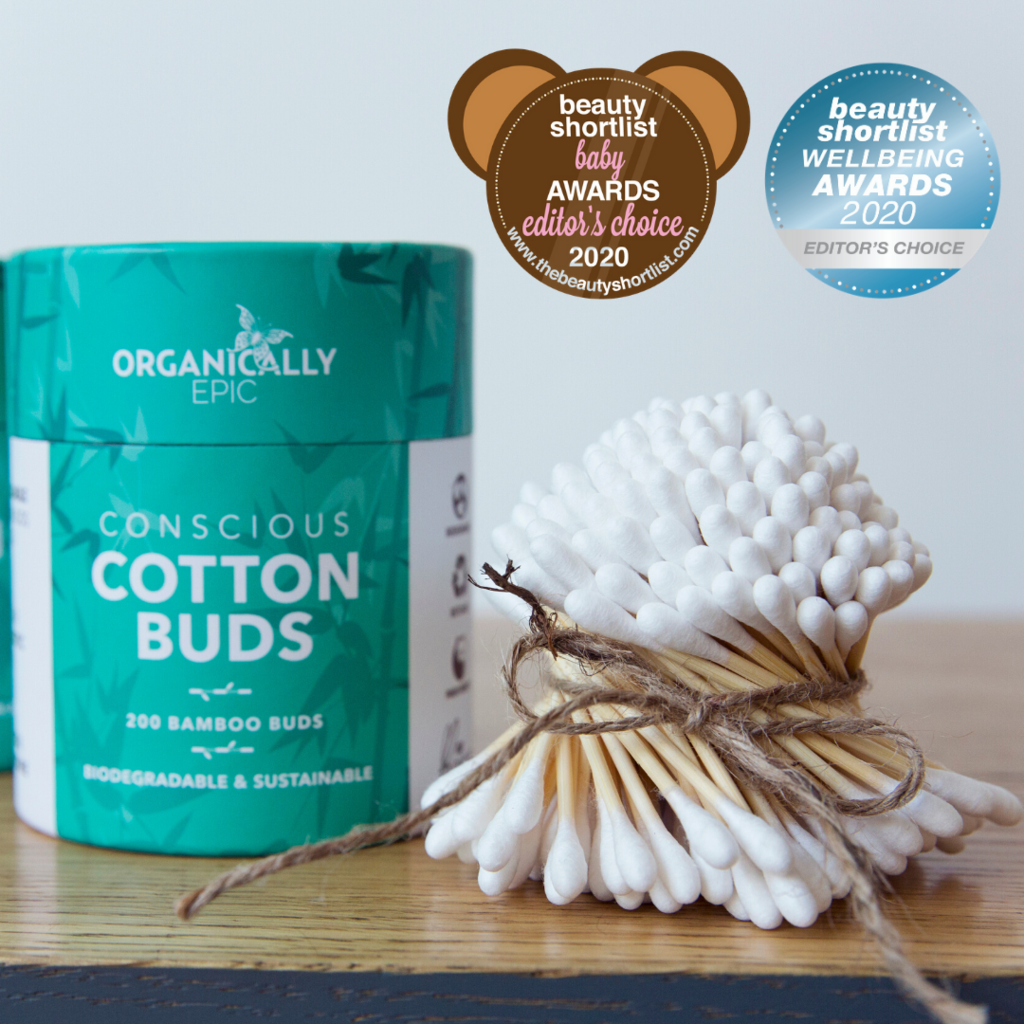 Organically Epic - Biodegradable Cotton Buds 200 Pieces