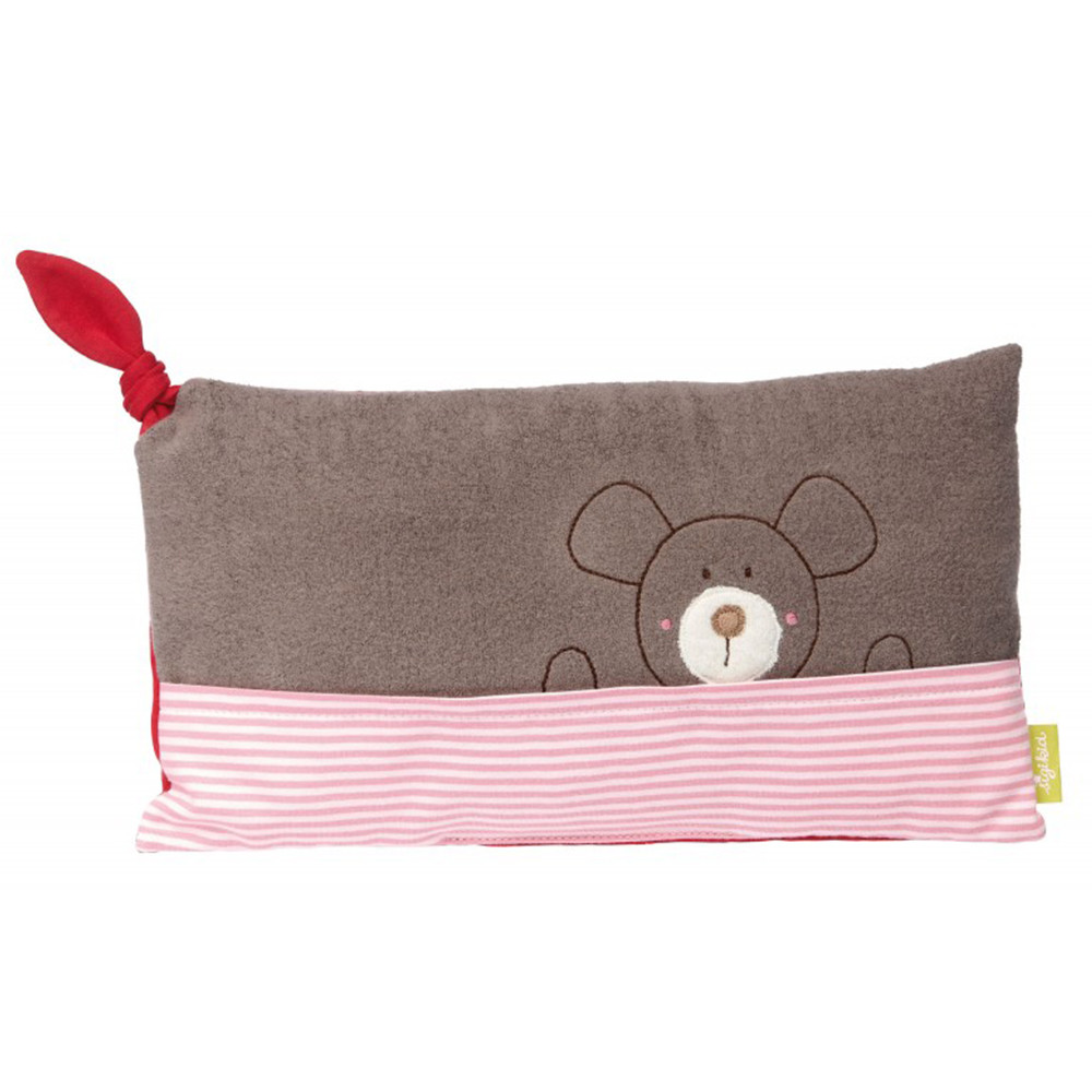 Sigikid Mouse Cushion, Green Collection