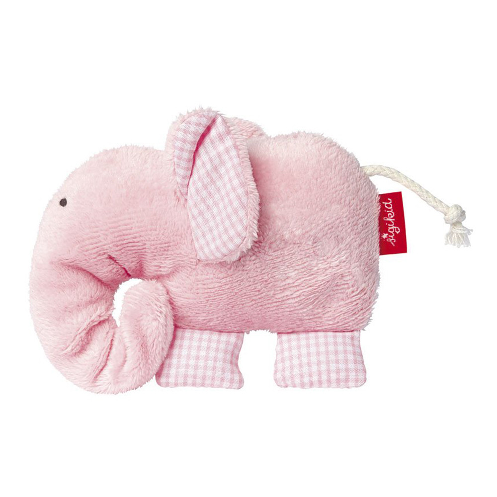 Sigikid Elephant Pink, Sigikid First Hugs, Organic Cotton
