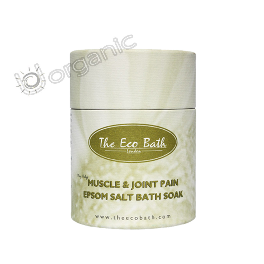 The Eco Bath Muscle and Joint Pain Epsom Salt Bath Soak 250g