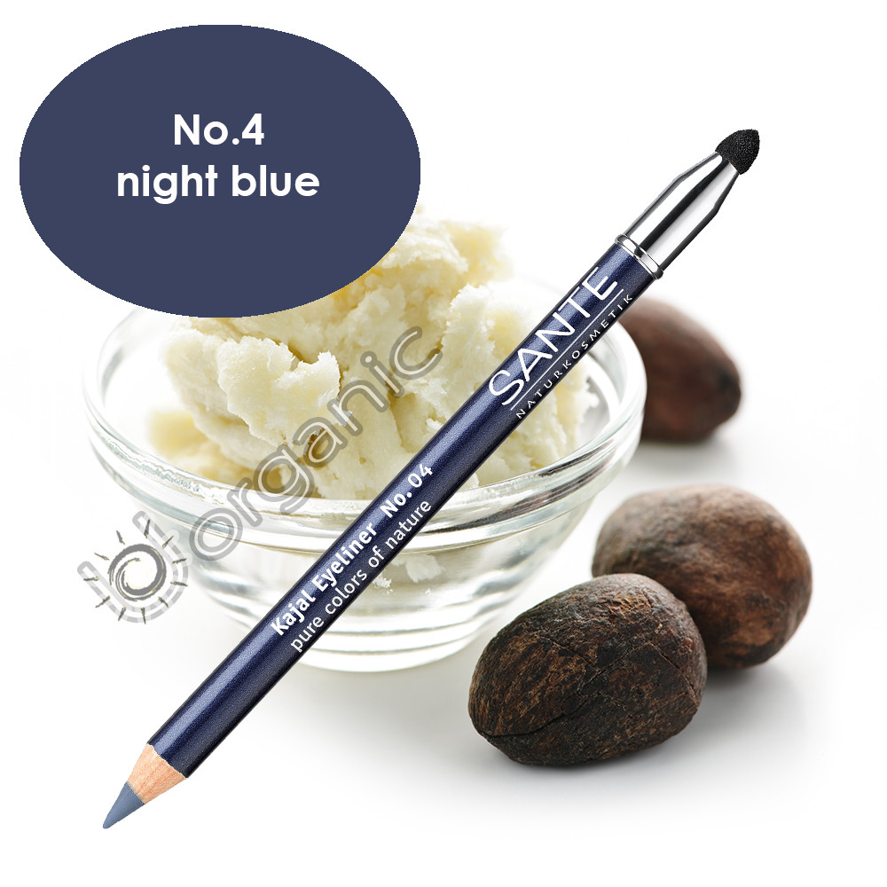 Sante Eyeliner Pencil No. 4 Night Blue 1.3g