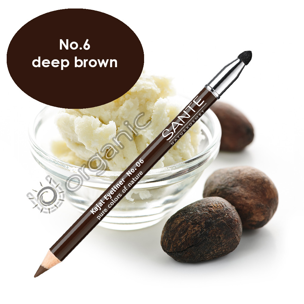 Sante Eyeliner Pencil No. 6 Deep Brown 1.3g