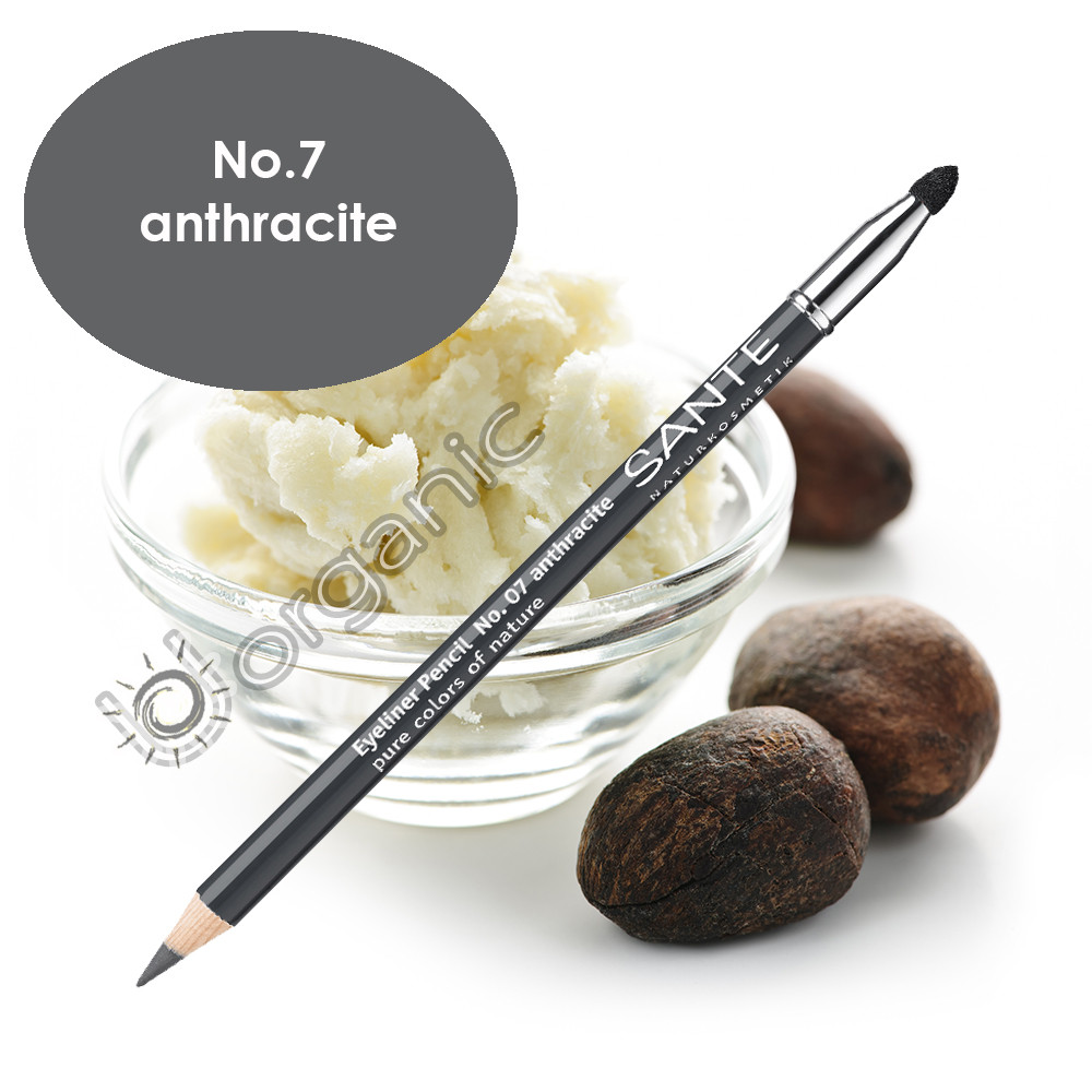 Sante Eyeliner Pencil No. 7 Anthracite 1.3g