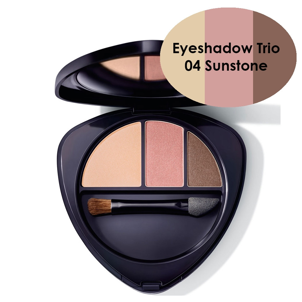 Dr Hauschka Eyeshadow Trio 04 Sunstone 4.4g