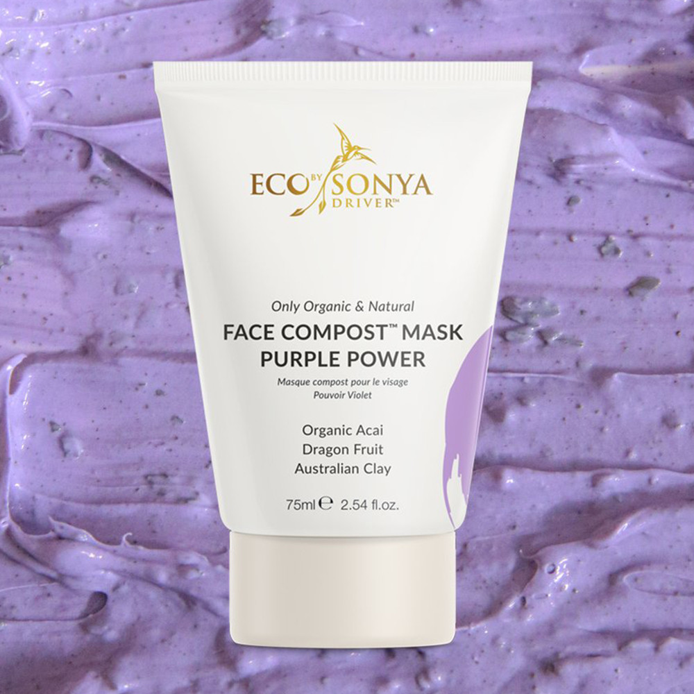 Eco by Sonya Face Compost™ Purple Power Mask 75ml