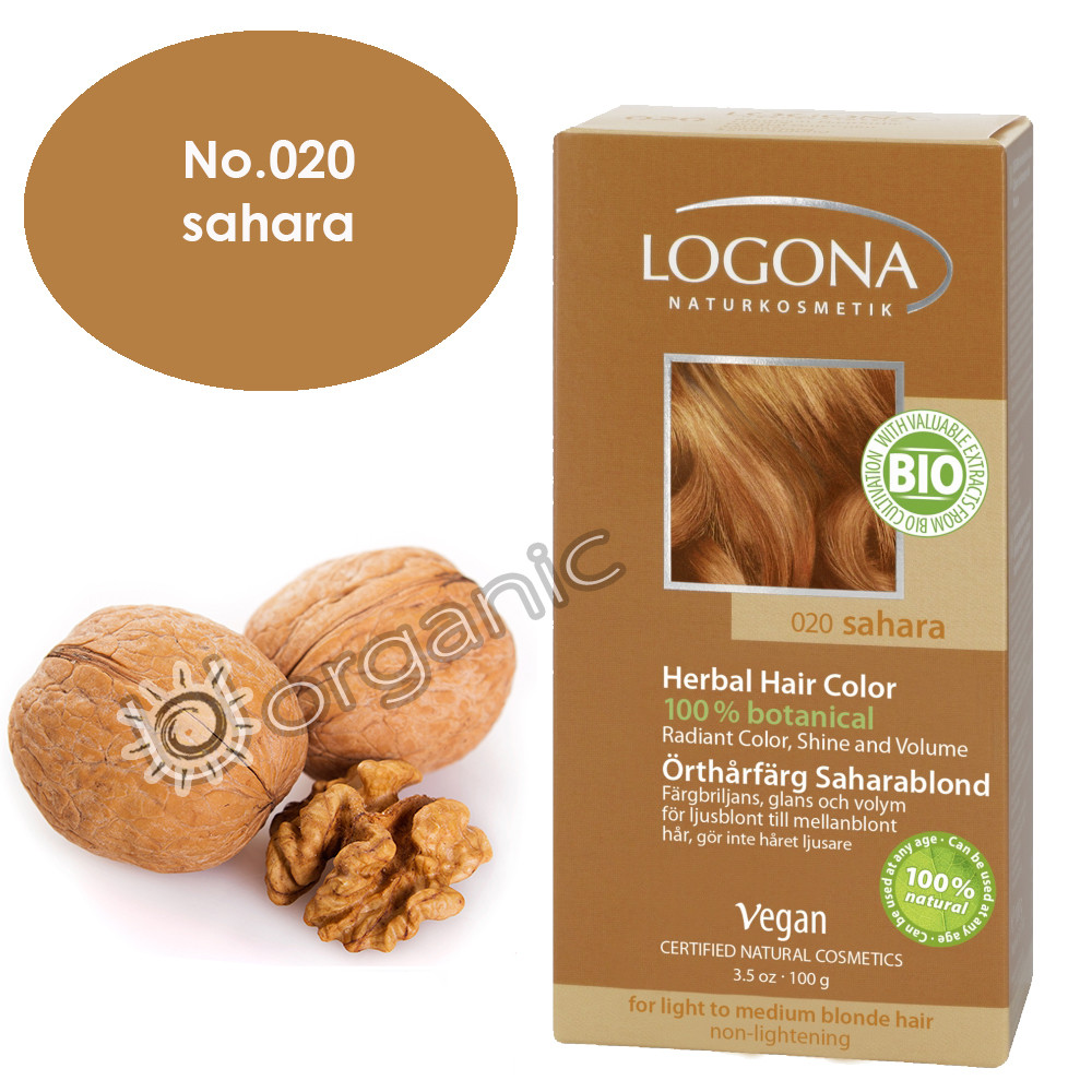 Logona Sahara Herbal Hair Colour 100g