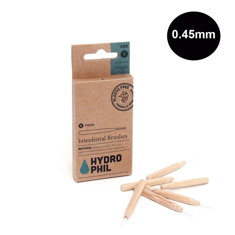 Hydrophil Interdental Brushes Size 1 = 0.45mm