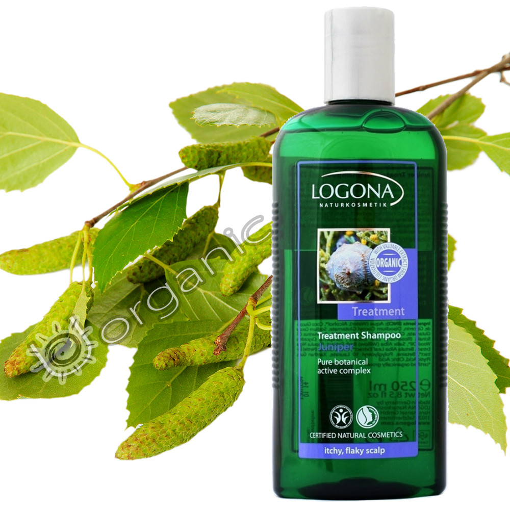 Logona Treatment Shampoo Juniper for Itchy & Flaky Scalp 250ml