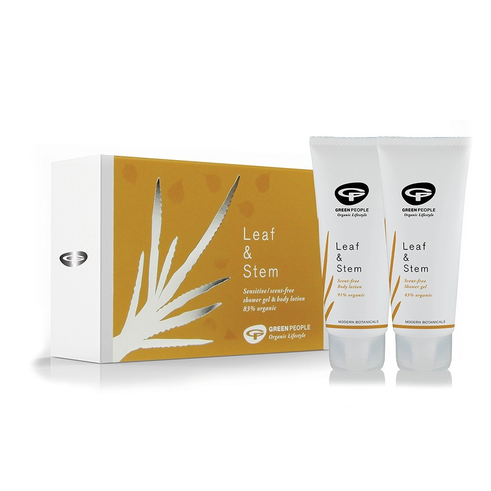 Green People Leaf & Stem - Scent-Free Body Collection