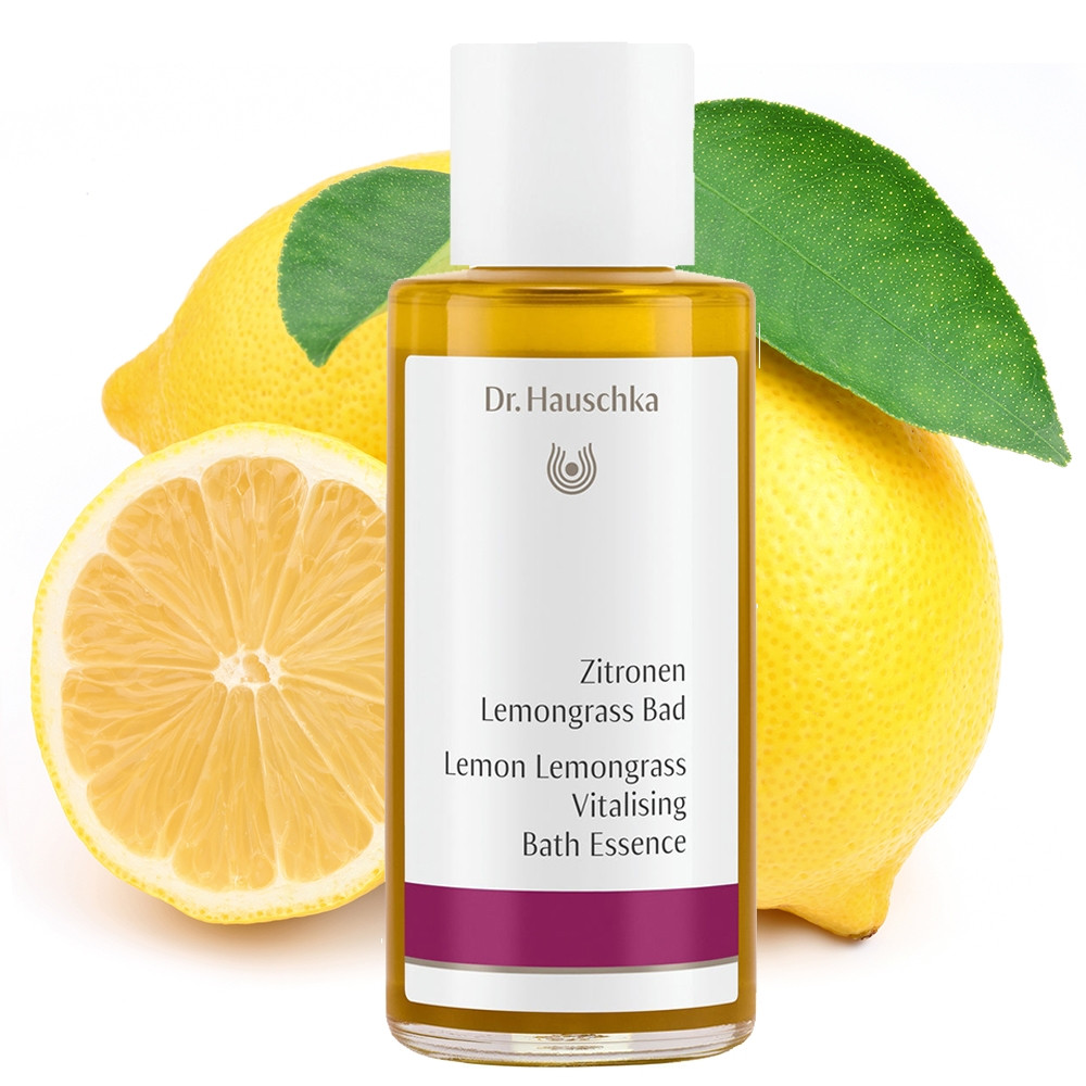 Dr Hauschka Lemon Lemongrass Vitalising Bath Essence 100ml
