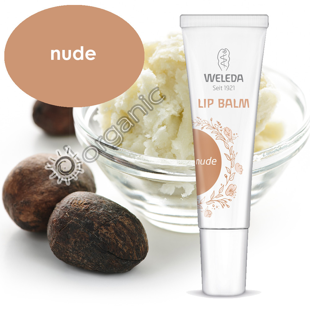 Weleda Nude Tinted Lip Balm 10ml - SPECIAL PRICE 02/2019