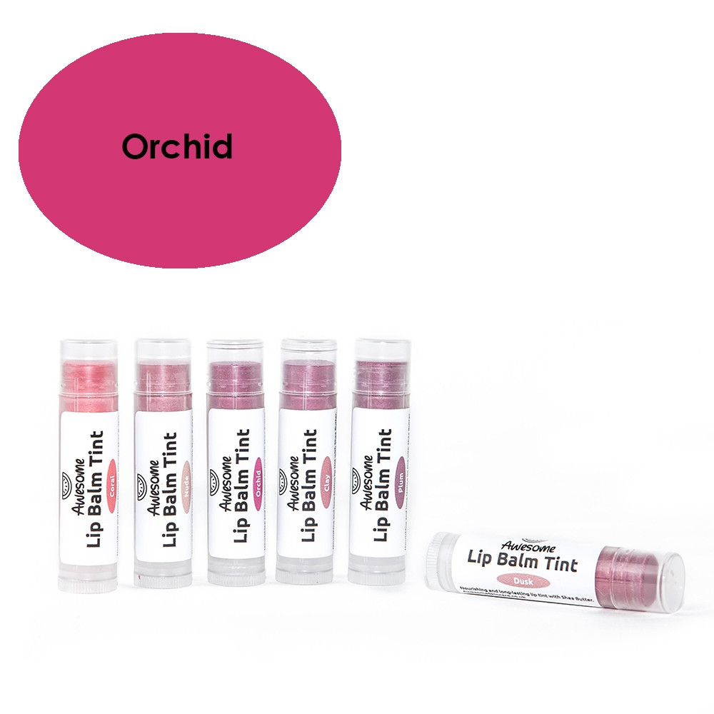Awesome Natural Skincare Lip Balm Tint - Orchid 10.2g