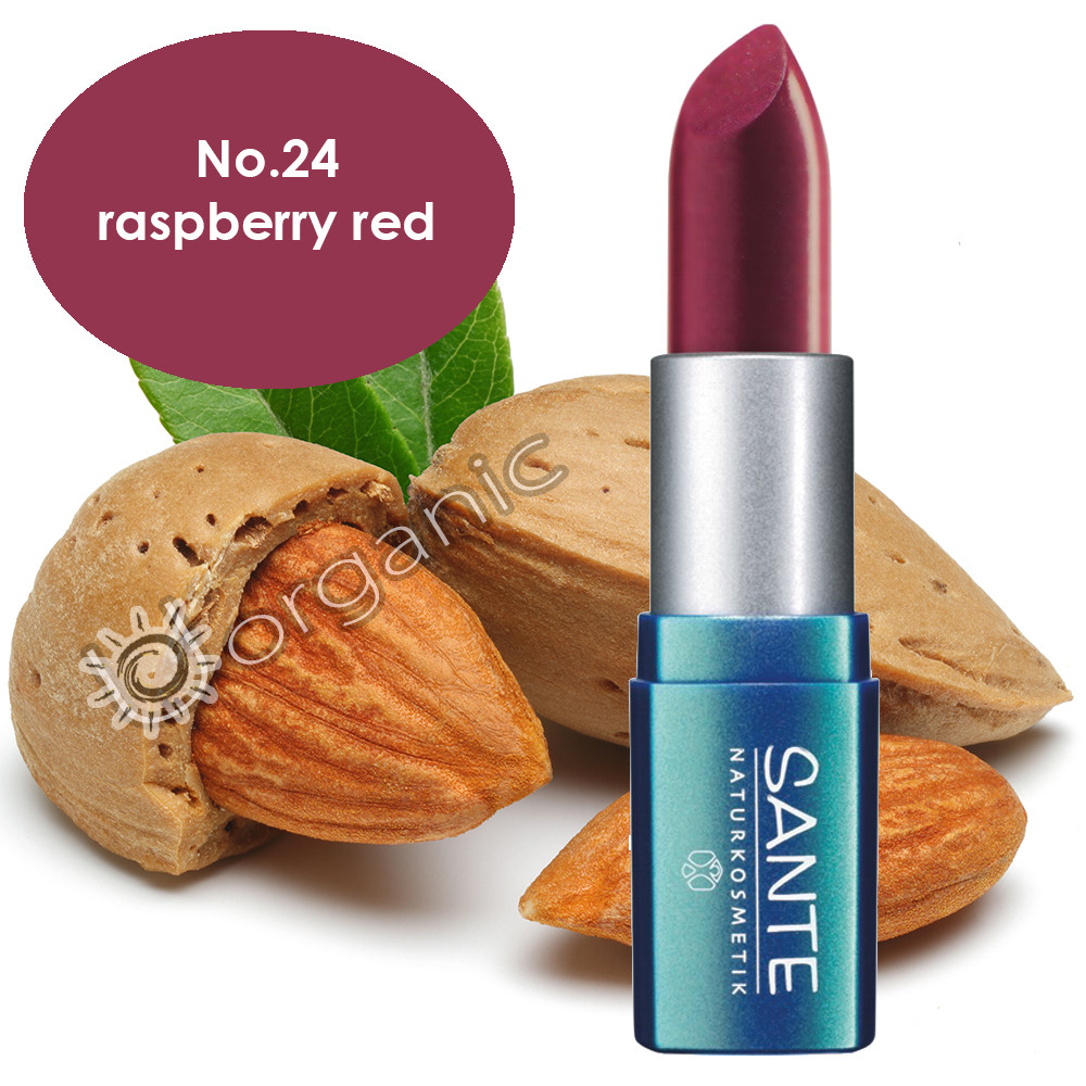 Sante Lipstick No. 24 Raspberry Red 5g